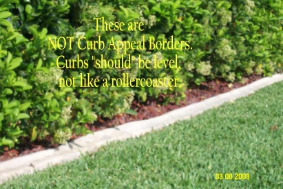 Curb 17 - NOT Curb Appeal