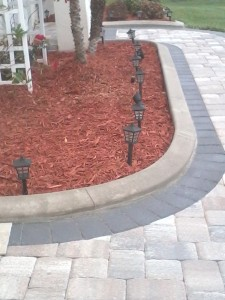 Combination Pavers & Curbs