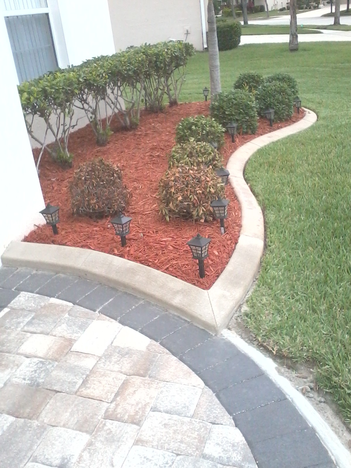 Curb Appeal – Concrete Landscaping Borders