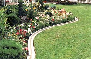 Lawn Flower Curbing